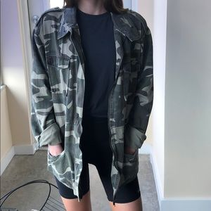 Missguided army cargo jacket